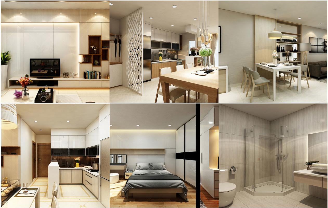 Thiết kế căn hộ Hưng Phát Golden Star quận 7