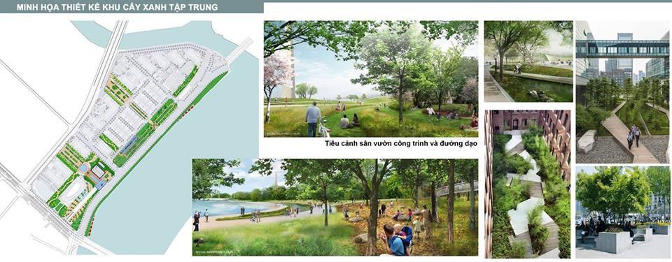Công trình xanh Vinhomes Golden River quận 1