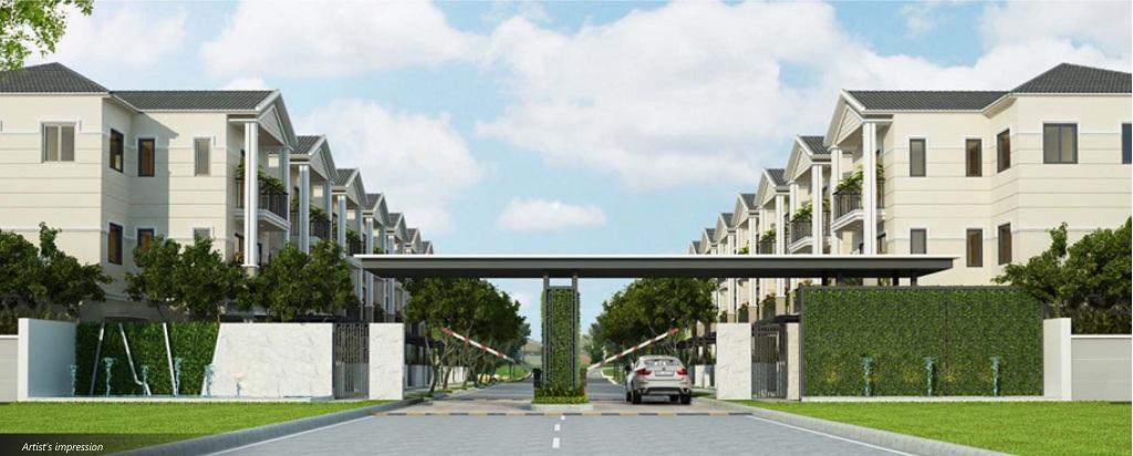 Phối cảnh dự án Nine South Estate Nam Sài Gòn