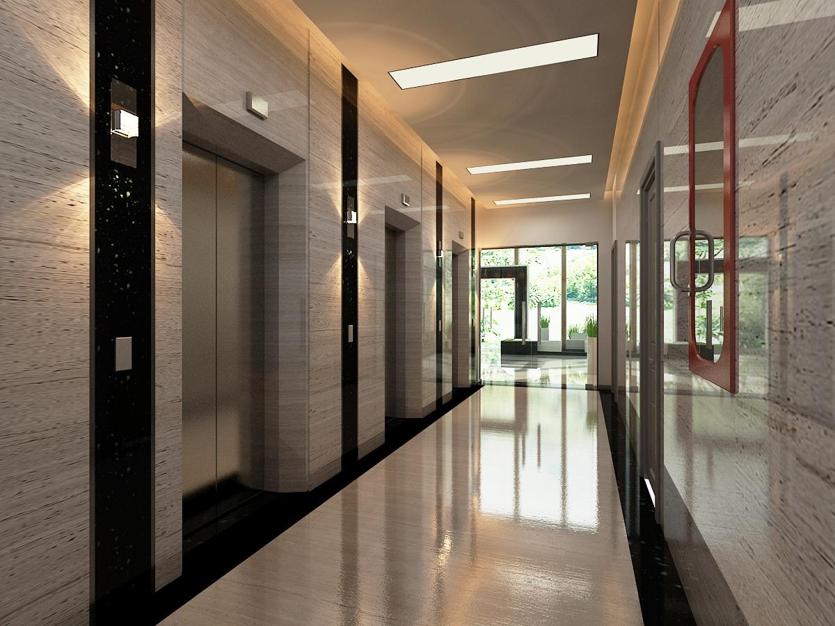 Hệ thống thang máy vận chuyển nhanh 3m/s hiện đại