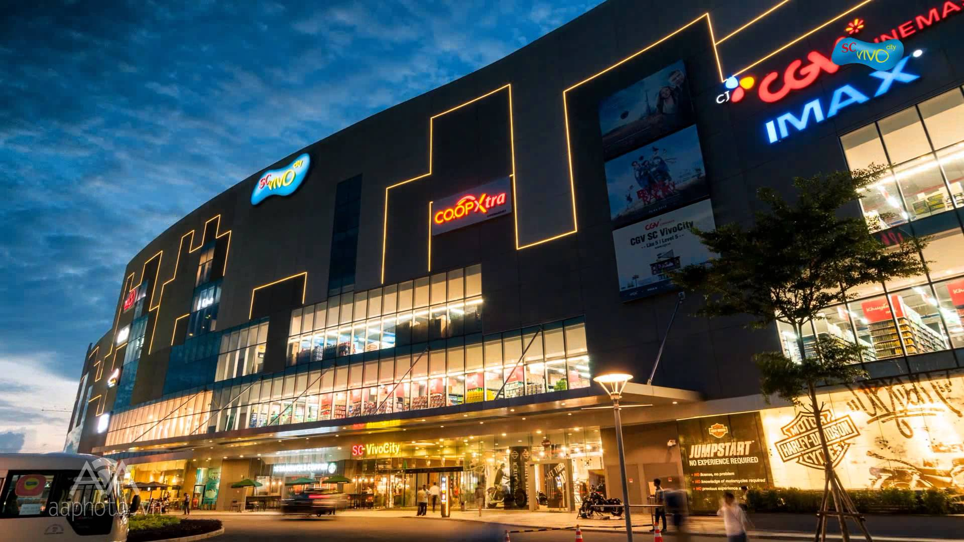 Trung tâm thoung7 mại Vivo city