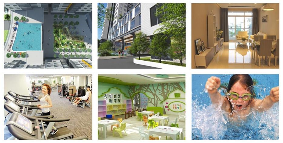 Tiện ích nội khu dự án Hưng Phát Golden Star quận 7