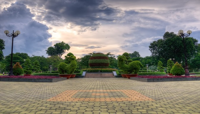 công viên gần Samland airport