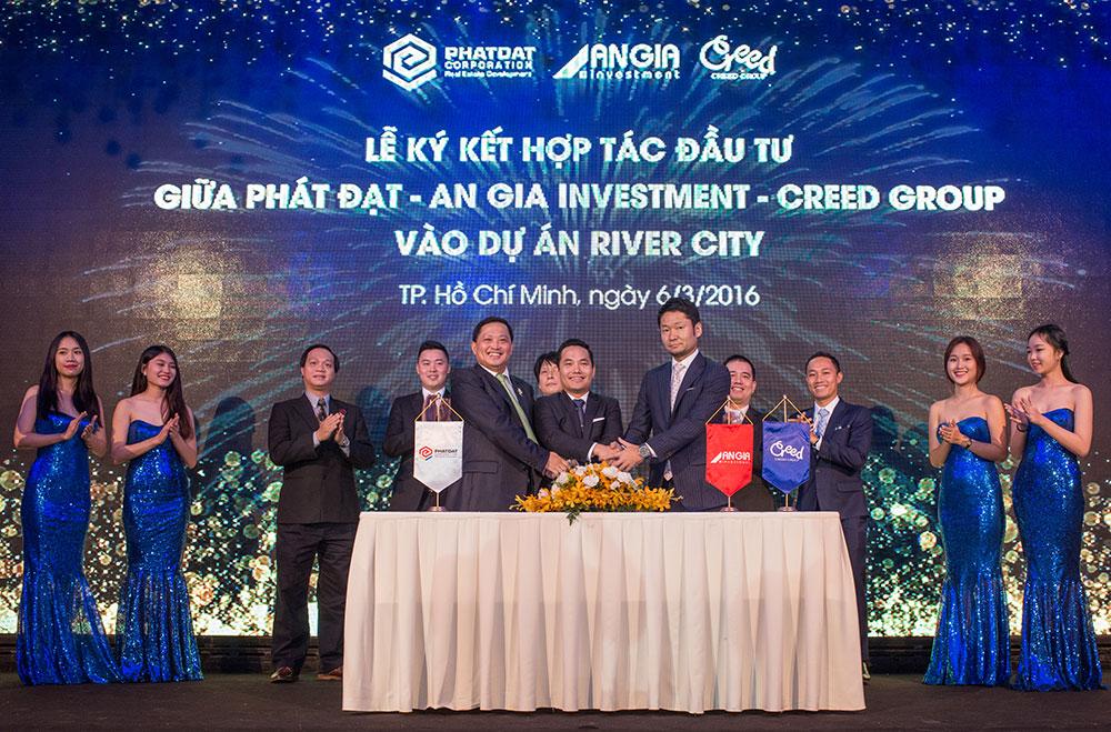 hợp tác phát triển river city quận 7