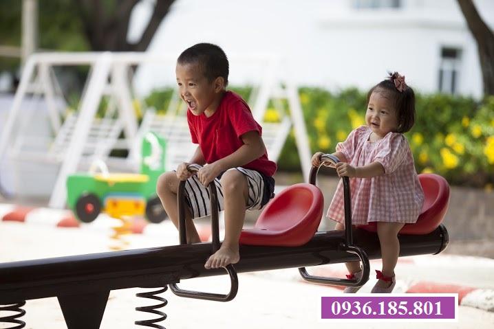 Khu vui chơi trẻ em tại Villas Park quận 9