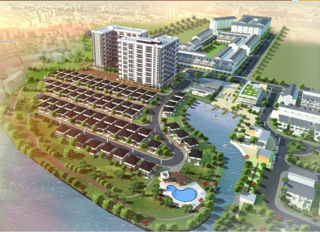 Phối cảnh dự án Fuji Residence quận 9