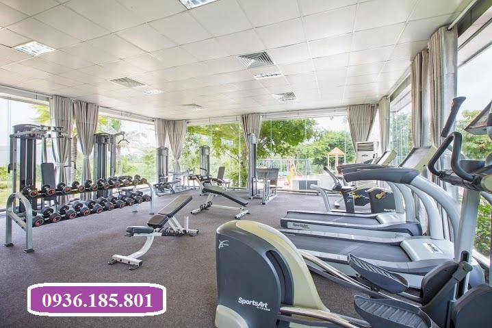 Phòng Gym tại Villas Park quận 9