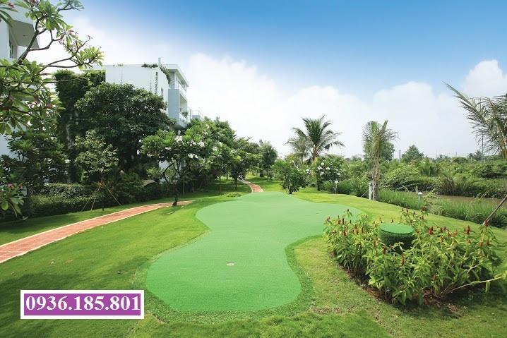 sân tập golf villas park