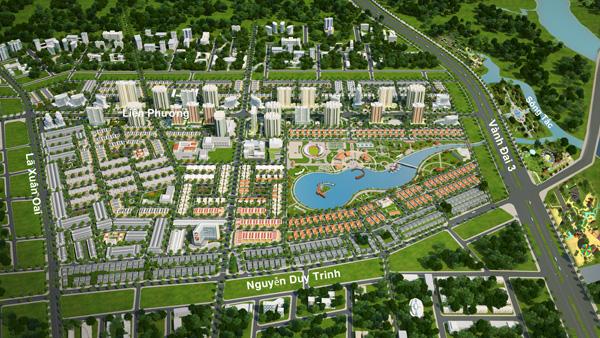 Tăng long riverview liền kề với KĐT Đông Tăng Long quận 9