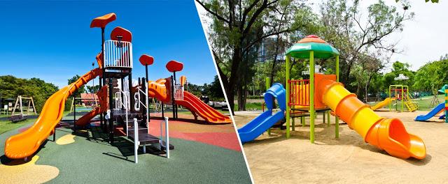 2 khu vui chơi cho trẻ em ngay trong Park Riverside