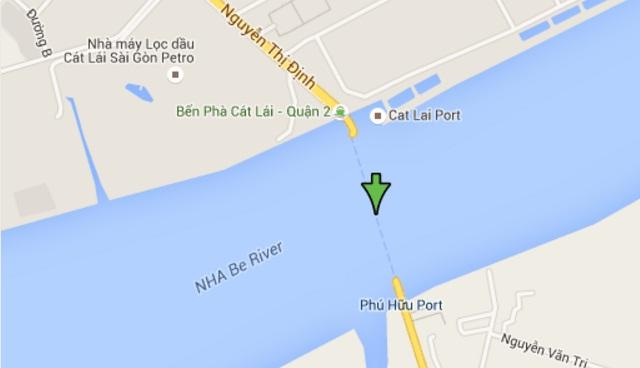 Citibela quận 2 nằm gần cầu Cát Lái