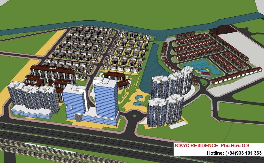 Dự án Kikyo Residence ngay trung tâm quận 9