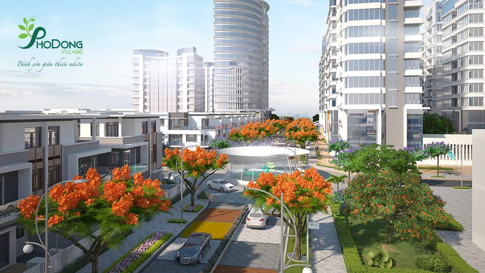 Quảng trường dự án PhoDong Village quận 2