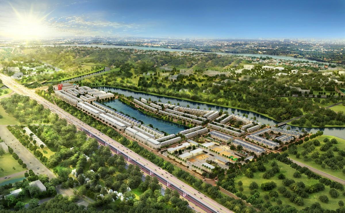 Dự án novaland ăn theo hạ tầng, gần với dự án Merita Khang Điền