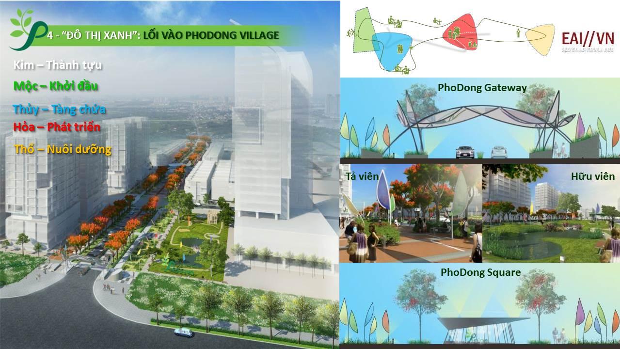 Khu nhà phố, biệt thự PhoDong Village