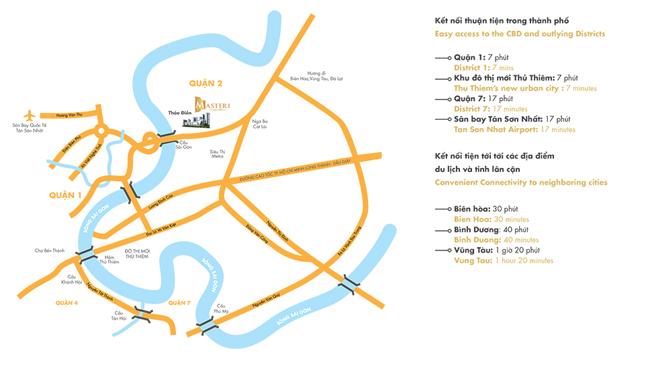Vị trí căn hộ masteri thảo điền ( metropolis thảo điền)