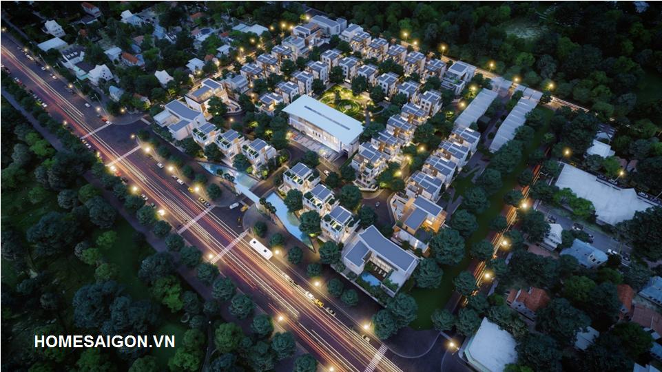 Phối cảnh dự án Citadel Residence quận 7
