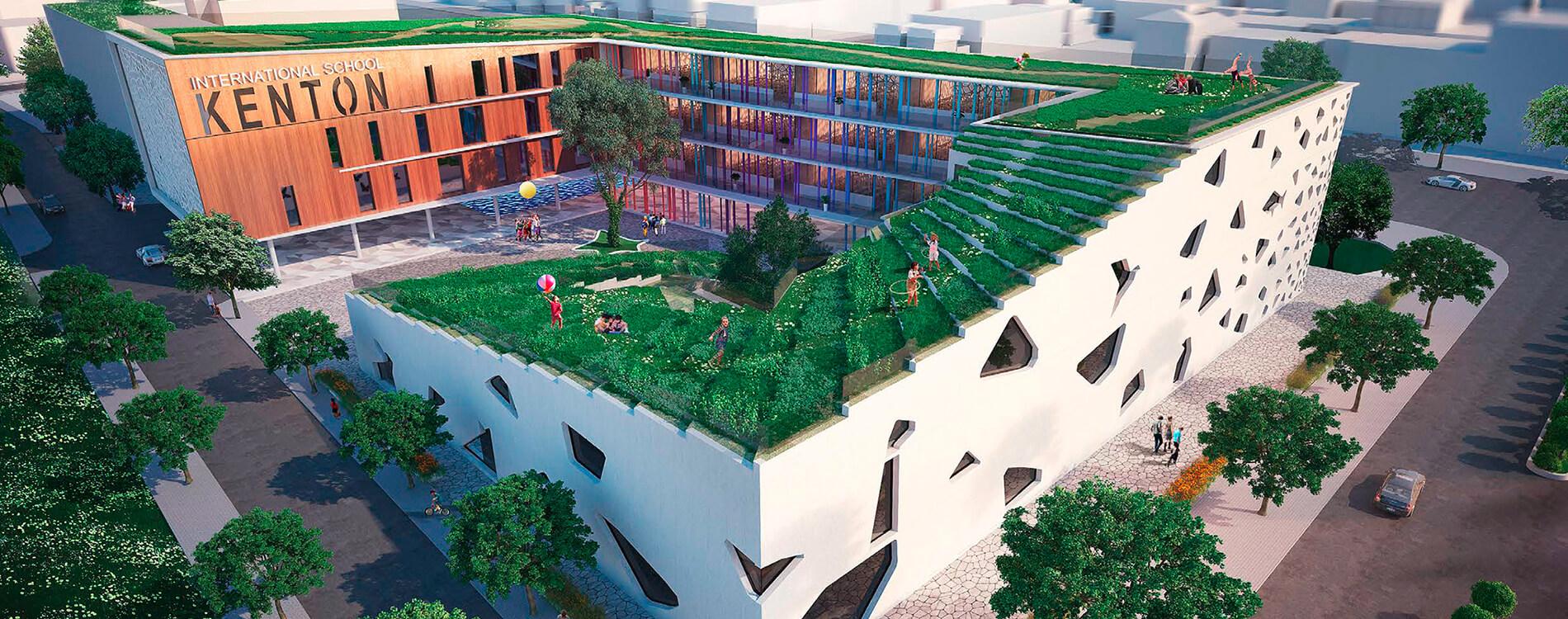 Khu trường học Kenton tiêu chuẩn xanh quốc tế