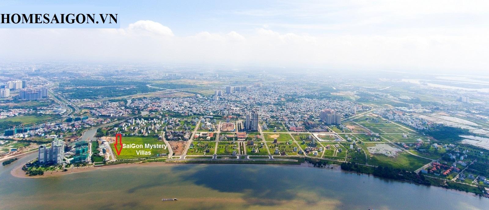 vi tri du an Saigon mystery villa quan 2