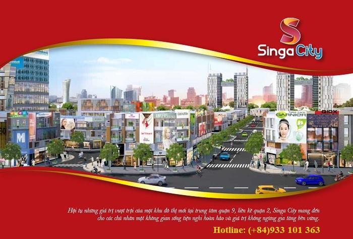 banner du an singa city quan 9