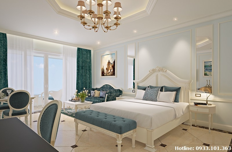 thiet ke phong ngu condotel lan rung resort phuoc hai