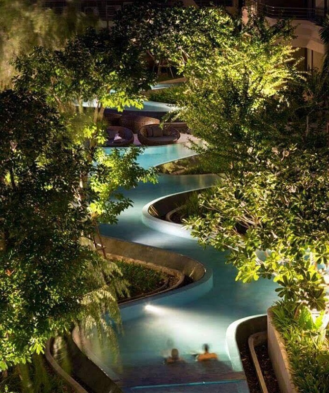 y tuong khong gian du an ray river residence