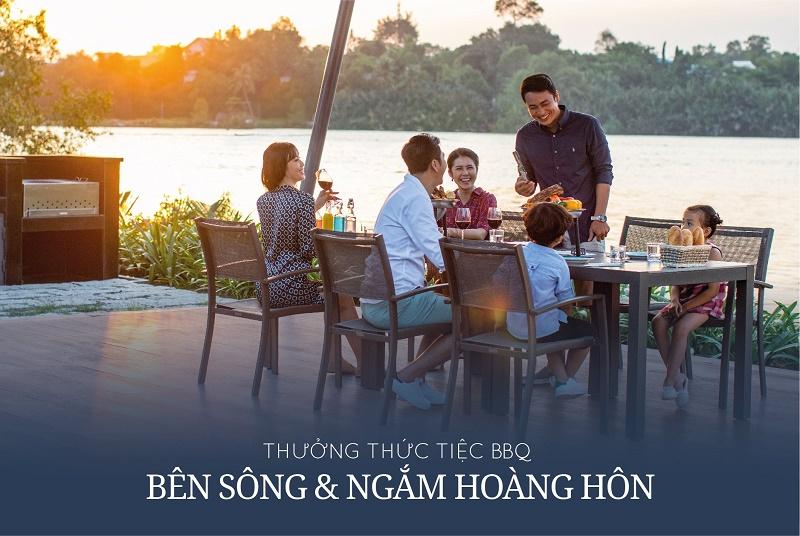 tien ich bbq ven song tai swan bay dai phuoc