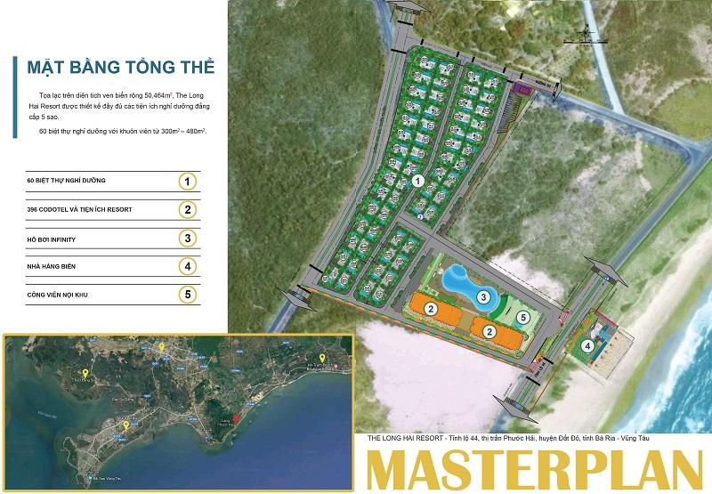master plan du an the long hai resort
