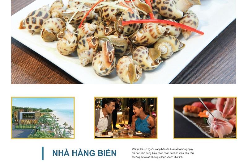 nha hang bien the long hai resort