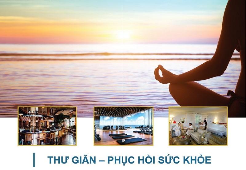 thu gian phuc hoi suc khoe tai the long hai resort