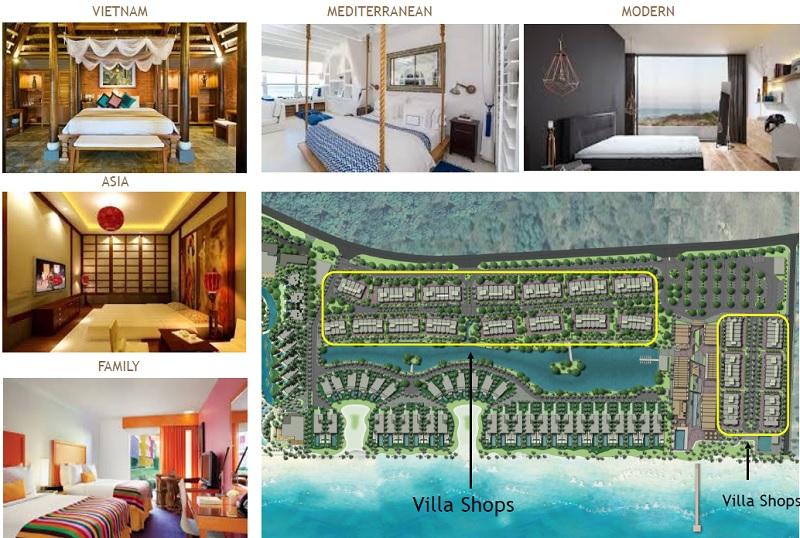 khu shop house villa shop the hamptons plaza