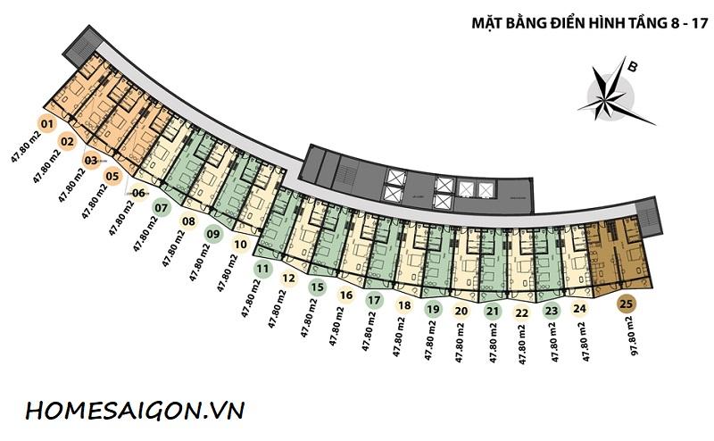 MAT BANG CAN HO WYNDHAM LONG HAI