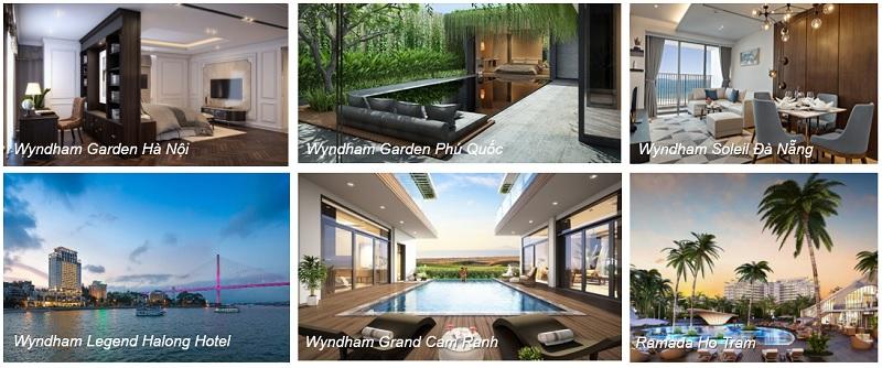 cac du an cua wyndham resort