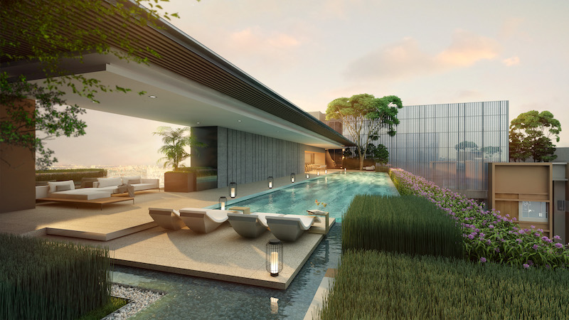 THE MARQ Infinity Lap Pool 1