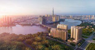 Phối cảnh dự án The River Thu Thiem