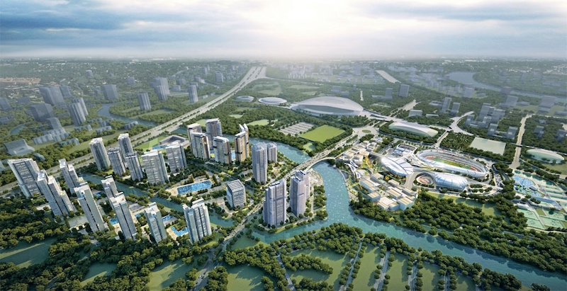 phoi canh du an saigon sports city q2