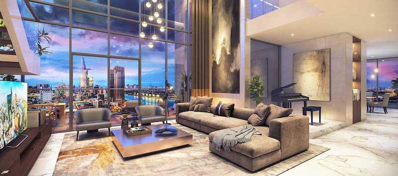Thiết kế căn hộ Sunshine quận 4