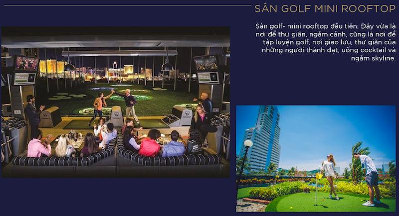 Sân golf điện tử