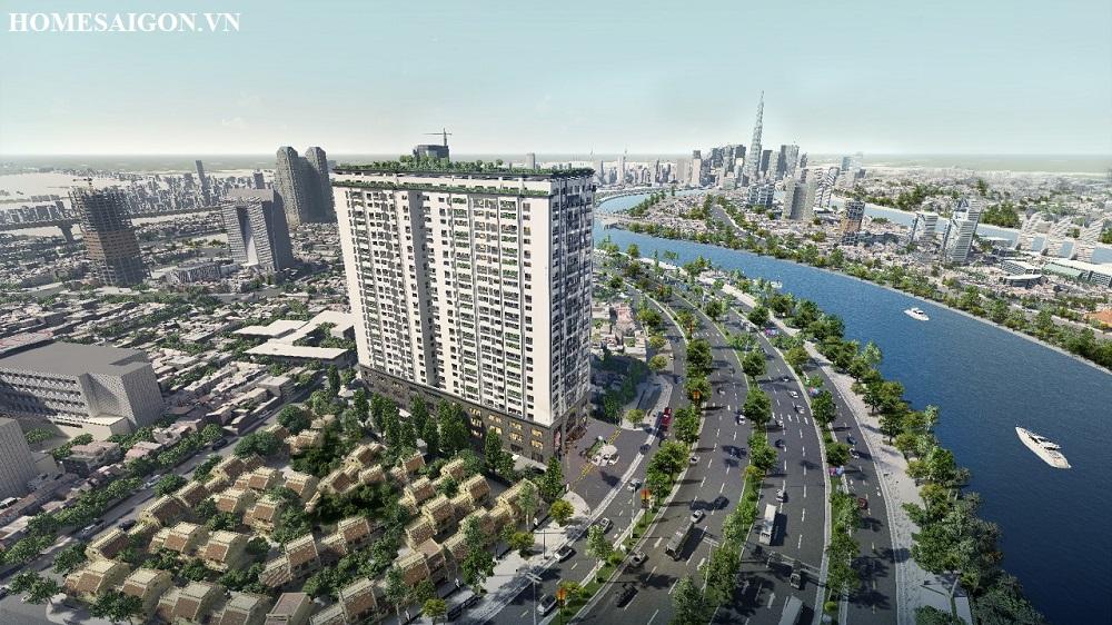 Phối cảnh dự án Tam Đức Plaza Q.5