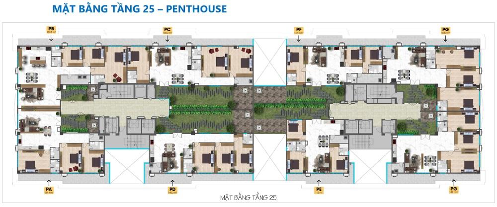 mat bang penthouse tam duc plaza