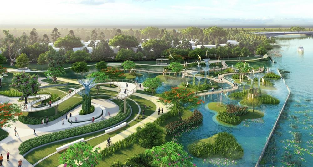 Khu công viên Magic Garden
